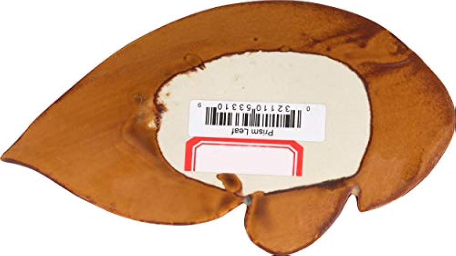 湖排出頭痛Shoyeidoのプリズムセラミック葉Incense Holder