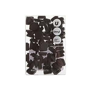 Upixel Small Pixel Chips (Black) by Uanyi [並行輸入品]
