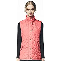 ST.MALO W. Womens Alpaca Suntec High Neck Quilted Vest