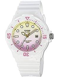CASIO カシオ チプカシ 腕時計 デジタル ホワイト ピンク イエロー LRW-200H-4E2【並行輸入品】