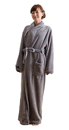 mofua ( モフア ) 着る毛布 プレミアムマイクロファイバー ガウンタ...