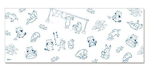ラスカル 日本手拭い(鳥獣戯画ラスカル)