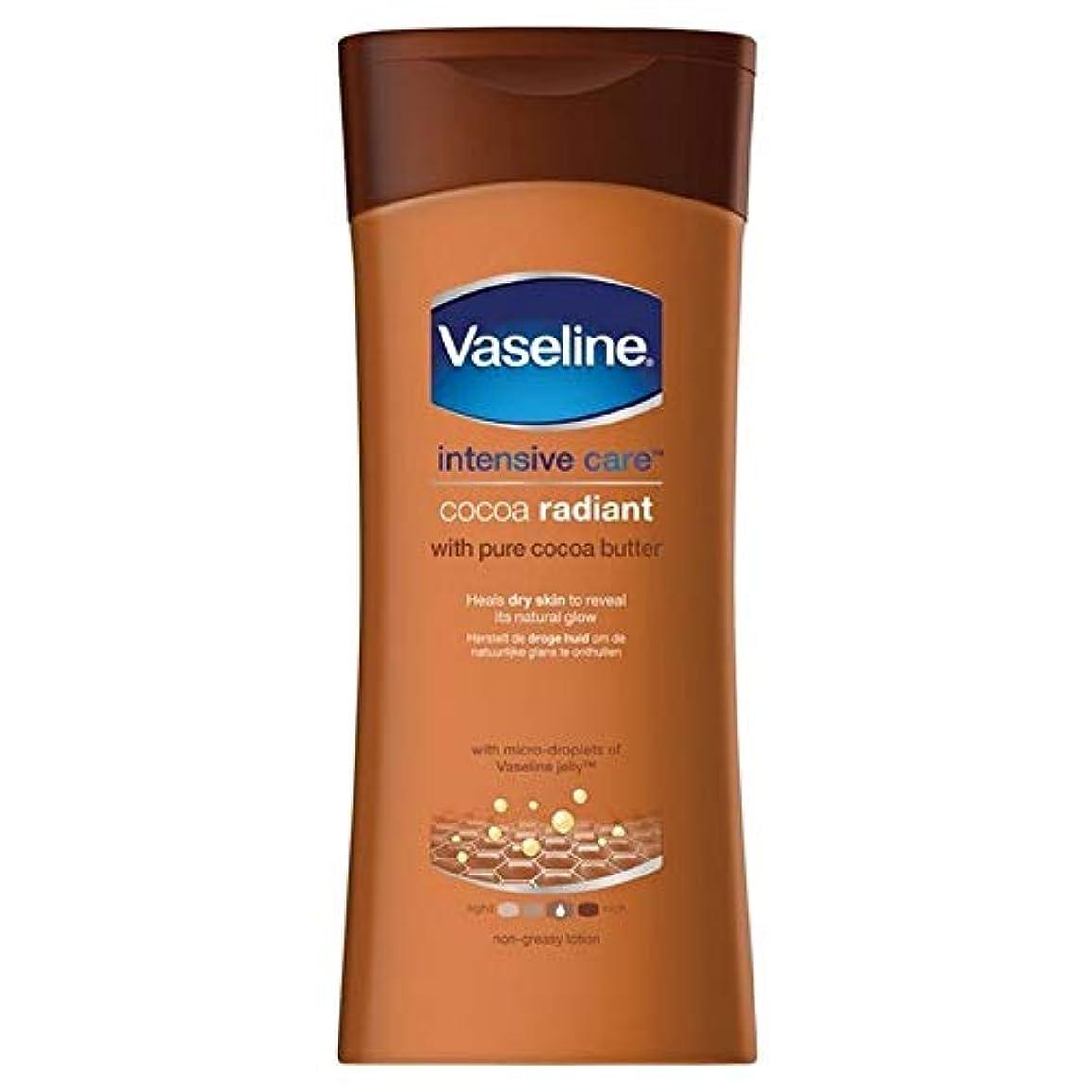 損失拍手マトロン[Vaseline ] ワセリン集中治療ココローション200Ml - Vaseline Intensive Care Cocoa Lotion 200ml [並行輸入品]