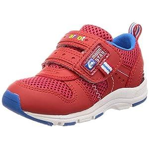 [キャロット] 運動靴 通学履き 4大機能 マジック ゆったり 2E キッズ CR C2175