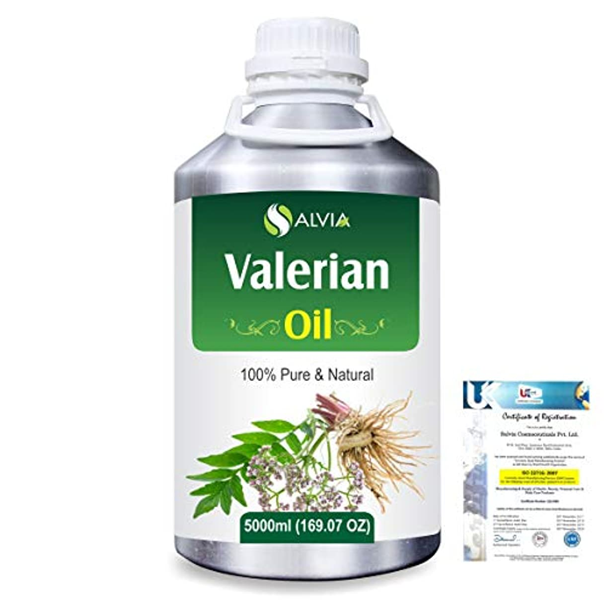 つぶやきはげ航空会社Valerian (Valeriana officinalis) 100% Natural Pure Essential Oil 5000ml/169fl.oz.