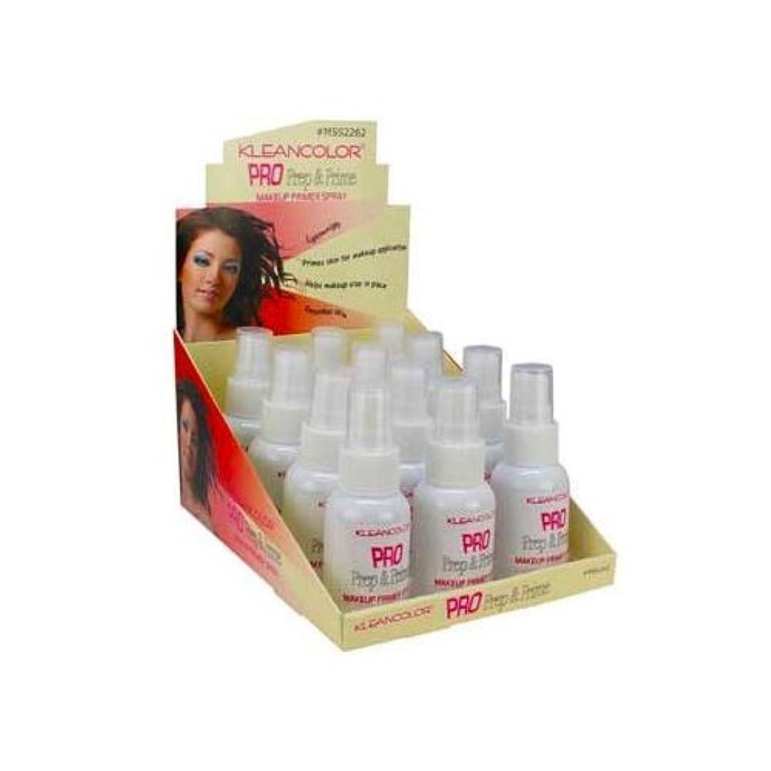 ひらめき行商悪質なKLEANCOLOR Pro Prep and Prime - Makeup Primer Spray (並行輸入品)