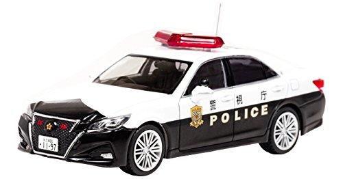 RAI'S 1/43 トヨタ クラウン アスリート (GRS214) 2017 警視庁高速道路交通警察隊車両 完成品