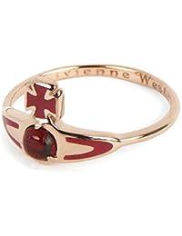 (ヴィヴィアンウエストウッド)Vivienne Westwood Betsy Ring リング 指輪 サイズS(約11~12号) Pink Gold  SR391/7 [並行輸入品]