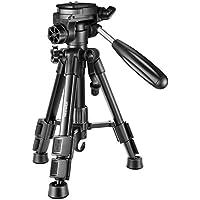 Neewer ミニ旅行用卓上カメラ三脚 24 inches/62cm 軽量でポータブル 3ウェイ雲台付き DSLRカメラ、スマートフォン、DVビデオに対応 耐荷重11 pounds/5kg(T210)