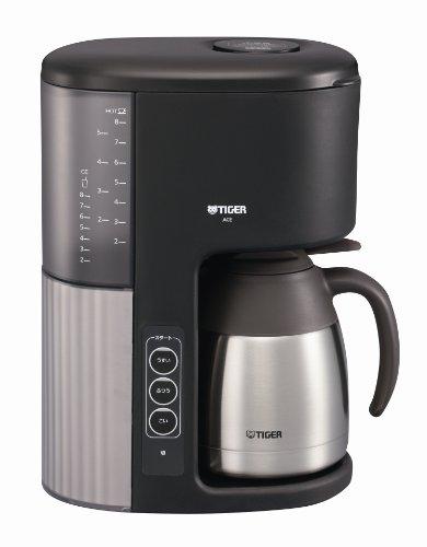 タイガー マイコンコーヒーメーカー カフェブラック 8杯用 ACE-M080KQ