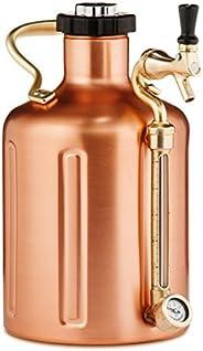 GrowlerWerks uKeg Pressurized Growler for Craft Beer Copper 128