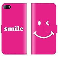 【 iris 】 手帳型ケース 全機種対応 【 Galaxy S8+ SC-03J専用 】 にこちゃん ニコちゃん スマイル smile nico 海外 人気 かわいい プラスチック 手帳型ケース カバー スマホケース スマートフォン