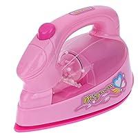 Domybest 子供おもちゃ ままごと ごっこ遊び 家事おもちゃ 知育玩具 女の子 3歳以上 ピンク かわいい 視覚刺激 お祝い ギフト 誕生日 記念日 (アイロンモデル )