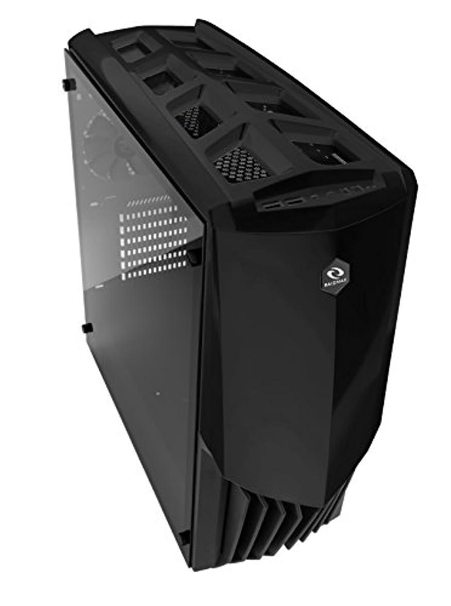 適合する東部最終的にRaidmax Gama PCゲームケース(ブラック)