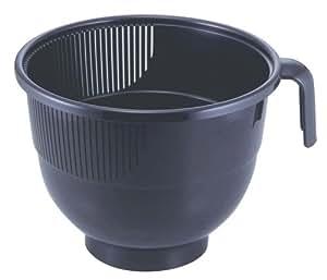 ワイド洗米カップ ブラック 24522