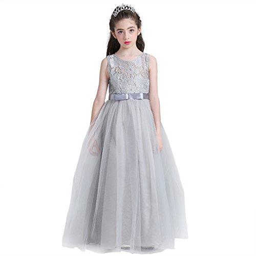 WOLFTEETH 子供ドレス ロングドレス 女の子 ジュニア ピアノ 発表会 パーディー 演奏会 ...