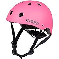 GIORO スポーツヘルメット サイズ調整可能 アイススケート スケートボード 自転車 保護用ヘルメット 子供大人兼用