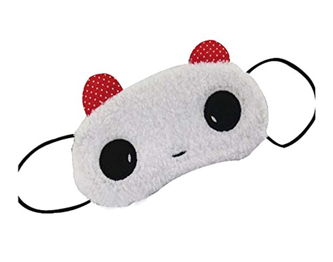 些細な朝ごはん仲良し素敵な子供の目のマスクGirl's Hairy Eyeshades、Cute Panda