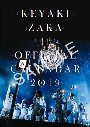 欅坂46 2019年度 壁掛けカレンダー