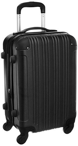 スーツケース (機内持込サイズ(1~3泊/33(拡張時40)L), ブラック...