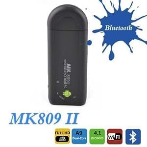 MK809 II-Android 4.1搭載 Mini PC デュアルコア TV Box HD IPTV Player PC Wifi Bluetooth 8GB