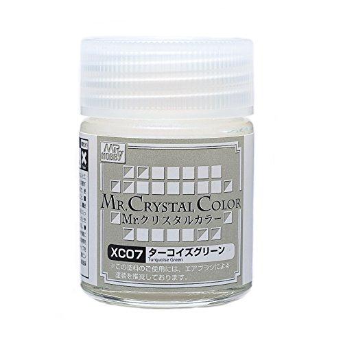 GSIクレオス Mr.クリスタルカラー XC07 ターコイズグリーン