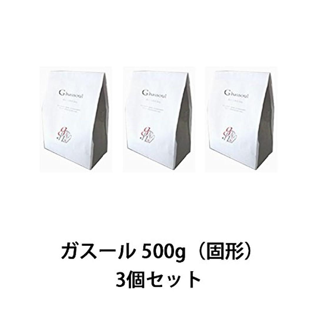 添付移住する真面目な【ナイアード】ガスール 固形 500g ×3個セット