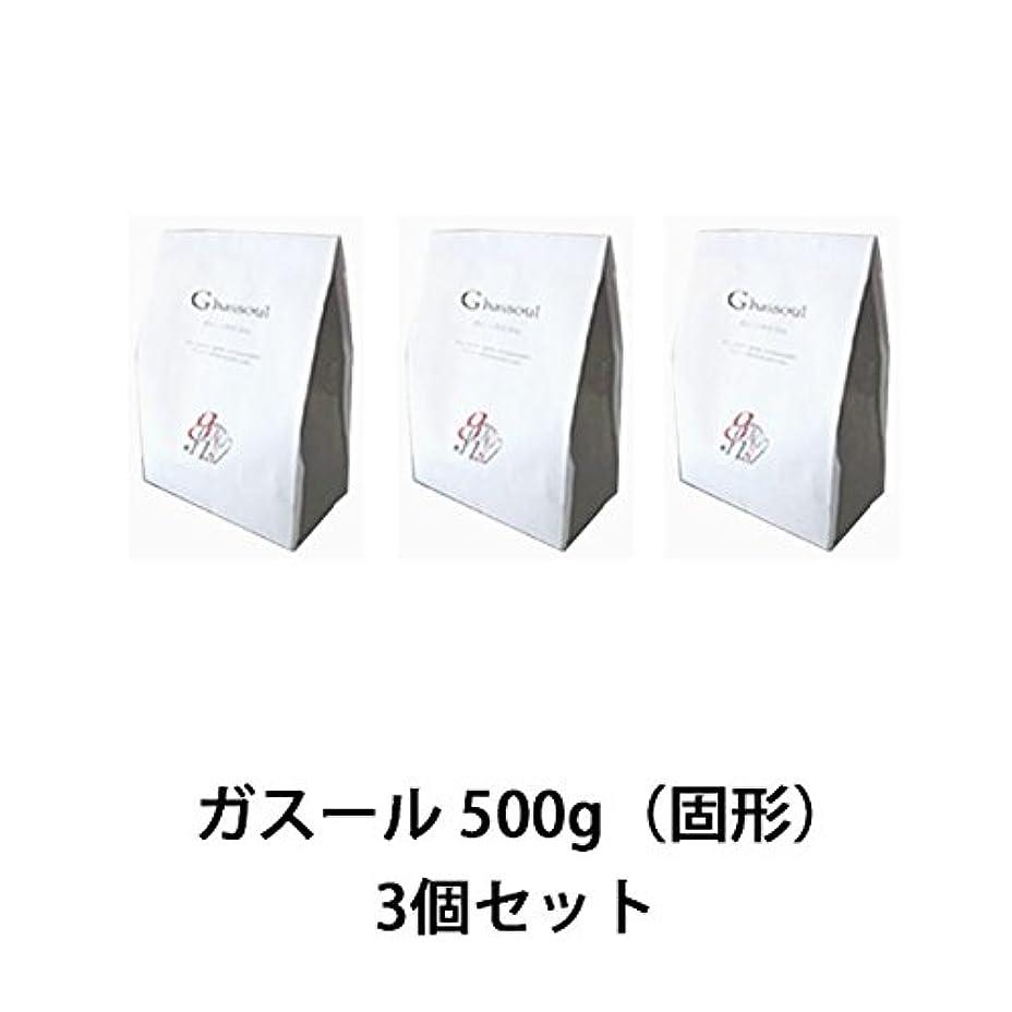 美しい空洞反動【ナイアード】ガスール 固形 500g ×3個セット
