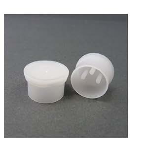 テクノベインズ XLR型キャノンコネクタ メス用コネクタ保護キャップ(半透明)6個/パック XLRFCK-W0-6