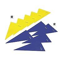 トーエイライト(TOEI LIGHT) 三角旗 B-6228 B 青