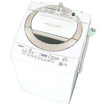 東芝 8.0kg 全自動洗濯機 サテンゴールドTOSHIBA マジックドラム AW-8D3M-N