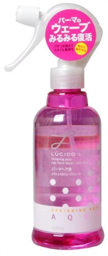 重要鍔感謝するLUCIDO-L (ルシードエル) デザイニングアクア #マシュマロウェーブウォーター (パーマヘア用) 250mL
