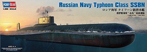 ホビーボス 1/350 潜水艦シリーズ ロシア海軍タイフーン級潜水艦