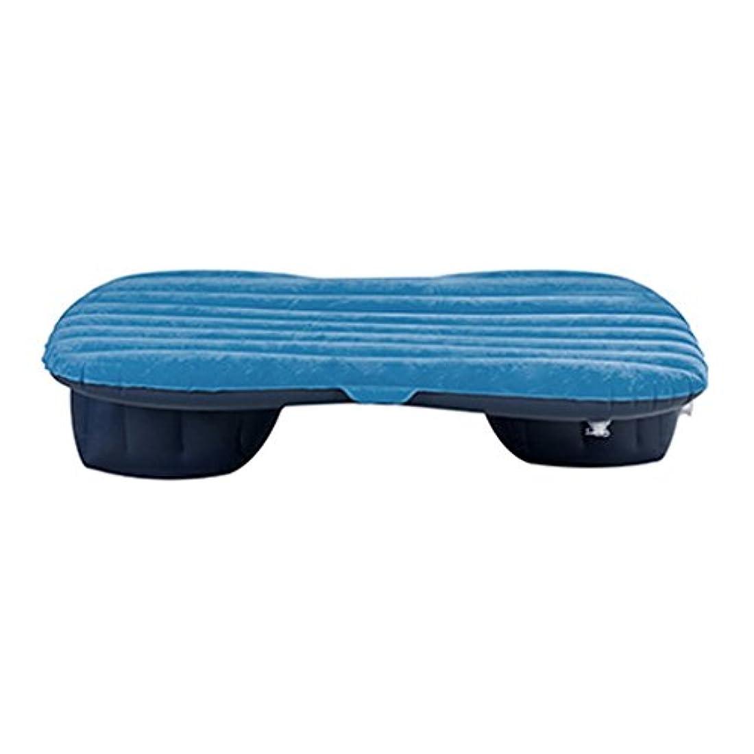 起こりやすいギャップ科学的エアベッド - カートラベルベッドカー自己駆動インフレータブルベッドリアカー アウトドアレジャー用品 (Color : Blue)