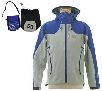 (ロウ アルパイン) Lowe alpine Triplepoint Stretch Rain Jacket M LSM12005 blue/grey ブルー/グレー L