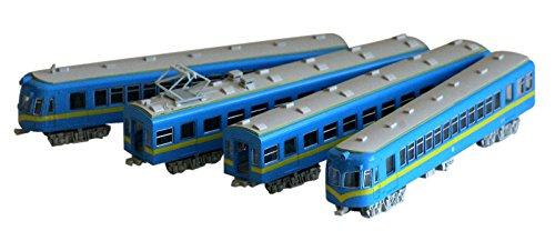 Nゲージ 西日本鉄道1300形 特急塗装 ブルー ディズプレイモデル
