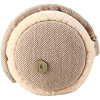 Chinashow Knitted Super Soft Folding Earmuffs Winter Earmuffs Ear Warmers,Khaki