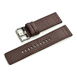 [カシス]CASSIS CASSIS[カシス]カーフ時計バンド ROTA 24mm ダークブラウン 交換用工具付き U1006226034024 U1006226-24mm-034