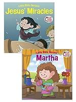 Jesus' Miracles / Martha Flip-Over Book (Little Bible Heroes)