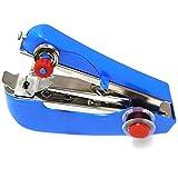ポータブル タイプ の 携帯 ミシン 見た目はまさに ホッチキス 片手で縫える 手の平 サイズの ハンディミシン (ブルー)