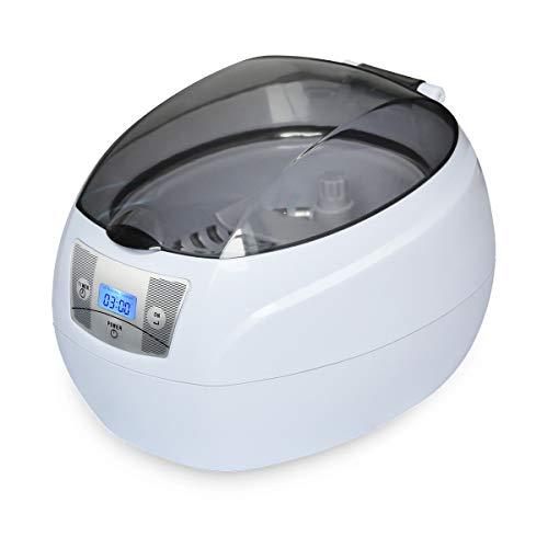 SKYMEN 超音波洗浄機 メガネ 超音波DVD洗浄器 750ml 超音波洗浄 眼鏡 ジュエリー CD 腕時計 入れ歯 アクセサリー 日用小物等