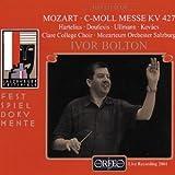 Mozart - Mass KV 427 by Wolfgang Amadeus Mozart (2002-07-29)