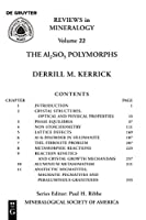 The Al2sio5 Polymorphs (Reviews in Mineralogy & Geochemistry)