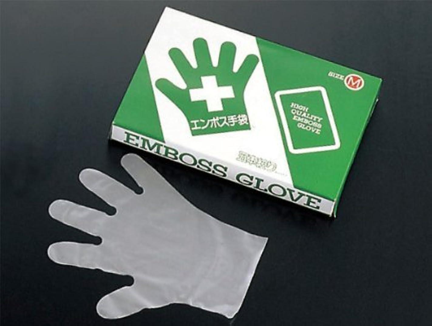周波数軍隊うねるエコノミー 手袋 #28 化粧箱(五本絞り)200枚入 M(外)27μ