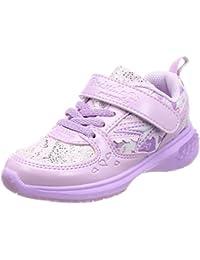 [瞬足] 运动鞋 上学用鞋 瞬足 轻量 灰姑娘 合身 15~24.5cm D 儿童 女孩 LEJ 5760