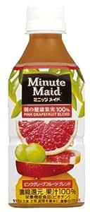 コカ・コーラ ミニッツメイド 朝の健康果実 ピンクグレープフルーツブレンド 350ml×24本