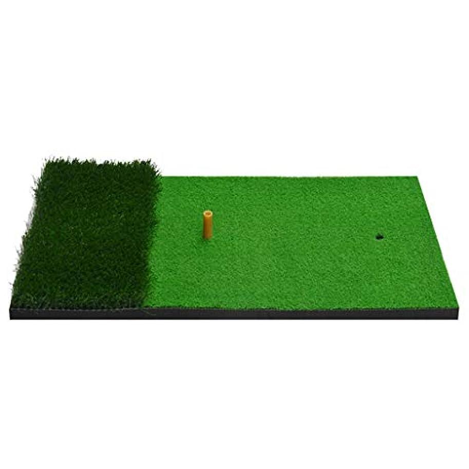 冗長詐欺ノベルティゴルフ練習マットを置く、個人屋内ヒット?パッド-40 * 70センチメートル