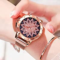 Women's Wrist Watch Quartz Rose Gold Water Resistant/Waterproof New Design Analog Casual Fashion - Rose Gold