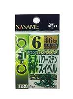 ささめ針(SASAME) 210-J 緑パワーステンスイベル 6