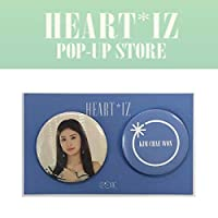 IZ*ONE (へウォン) PIN BUTTON SET [HEART*IZ POP UP STORE GOODS] OFFICIAL MD アイズワン 公式